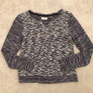 Lou & Grey by Loft marled sweatshirt XS